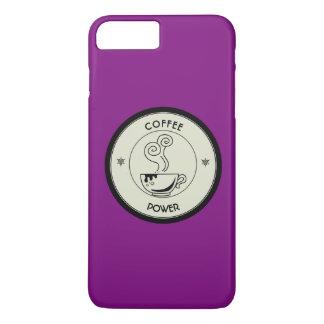 Capa iPhone 8 Plus/7 Plus Poder do café