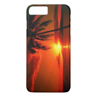 Capa iPhone 8 Plus/7 Plus Por do sol