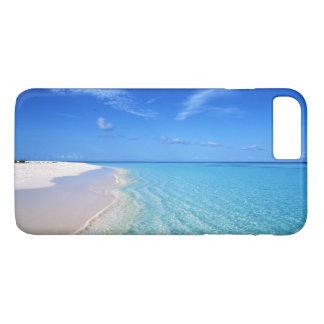 Capa iPhone 8 Plus/7 Plus Praia cristalino