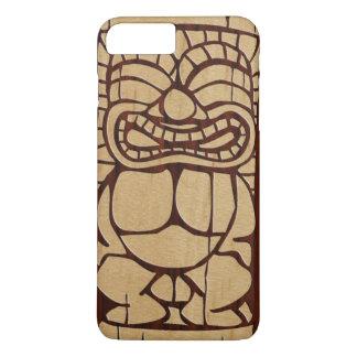 Capa iPhone 8 Plus/7 Plus Prancha de madeira de Koa Tiki Ailani