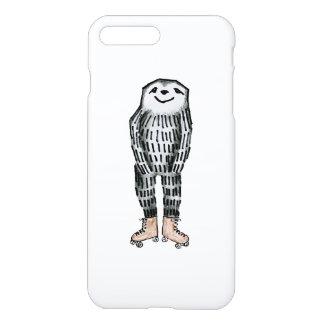 Capa iPhone 8 Plus/7 Plus Preguiça em skates de rolo