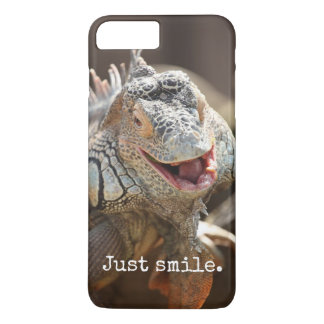 Capa iPhone 8 Plus/7 Plus Presentes de riso da iguana
