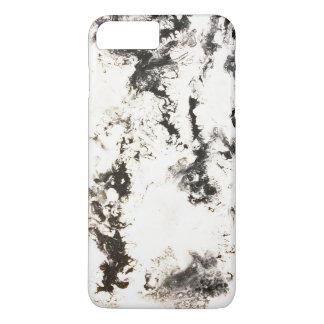 Capa iPhone 8 Plus/7 Plus Preto, branco & prata