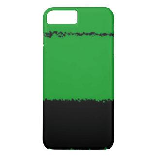 Capa iPhone 8 Plus/7 Plus preto e verde