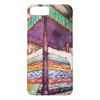 Capa iPhone 8 Plus/7 Plus Princesa e o cobrir do telefone da ervilha