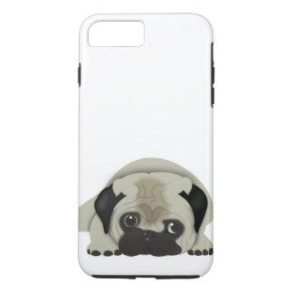 Capa iPhone 8 Plus/7 Plus Pug