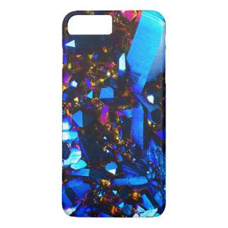 Capa iPhone 8 Plus/7 Plus Quartzo Titanium dos azuis cobaltos