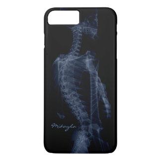 Capa iPhone 8 Plus/7 Plus Raio X bonito, personalizado do corpo