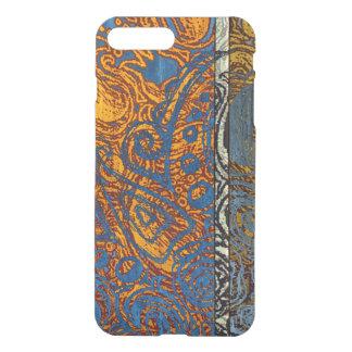 Capa iPhone 8 Plus/7 Plus Redemoinho azul de Jean de três tons