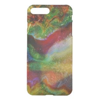 Capa iPhone 8 Plus/7 Plus Refrigere o impressão moderno da pedra da ágata