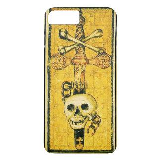 Capa iPhone 8 Plus/7 Plus RENASCIMENTO ANTIGO TAROTS, ÁS do amarelo das