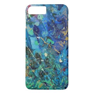 Capa iPhone 8 Plus/7 Plus Respingo azul