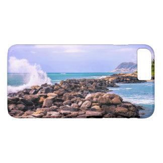 Capa iPhone 8 Plus/7 Plus Respingo tropical havaiano da ilha