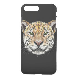 Capa iPhone 8 Plus/7 Plus Retrato ilustrado do Jaguar.