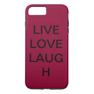 Capa iPhone 8 Plus/7 Plus Riso vivo do amor