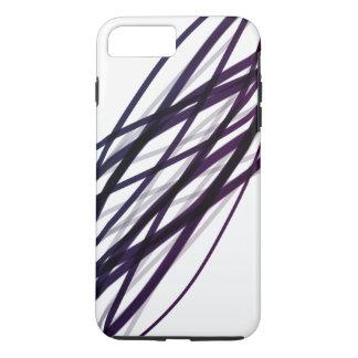 Capa iPhone 8 Plus/7 Plus Roxo/linhas