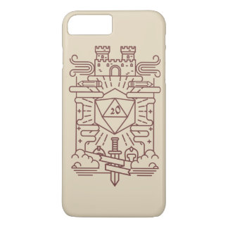 Capa iPhone 8 Plus/7 Plus RPG lunático Iphone mais o caso