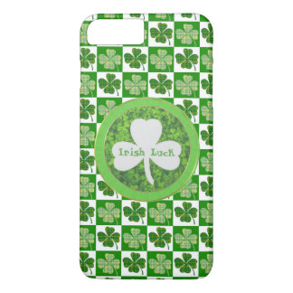 CAPA iPhone 8 PLUS/7 PLUS RUA PATRIC+DIA DE S, SORTE IRLANDESA, LOGOTIPO DO