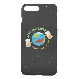 Capa iPhone 8 Plus/7 Plus Salvar a terra
