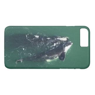 Capa iPhone 8 Plus/7 Plus Salvar baleias direitas do Atlântico Norte por