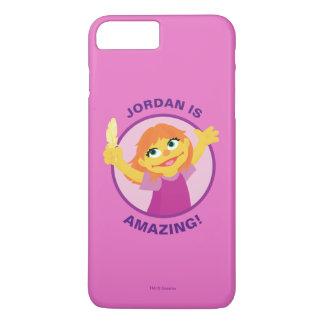 Capa iPhone 8 Plus/7 Plus Sesame Street | Julia que guardara a pena