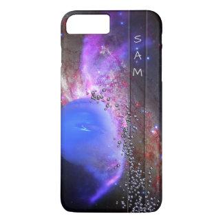 Capa iPhone 8 Plus/7 Plus Seu nome na Via Láctea