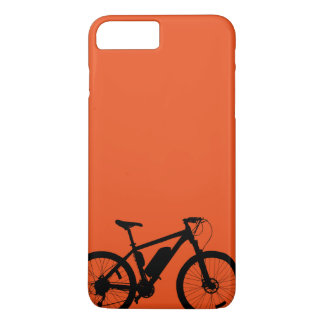 Capa iPhone 8 Plus/7 Plus Silhueta da bicicleta