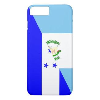 Capa iPhone 8 Plus/7 Plus símbolo da bandeira de guatemala honduras meio