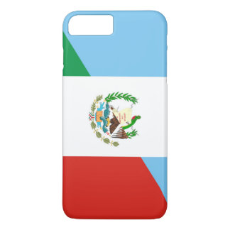 Capa iPhone 8 Plus/7 Plus símbolo da bandeira de guatemala México meio