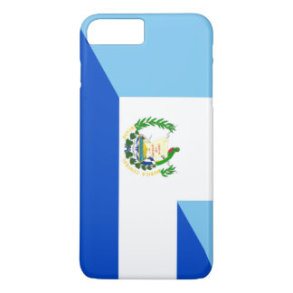 Capa iPhone 8 Plus/7 Plus símbolo do país da bandeira de guatemala El