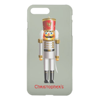 Capa iPhone 8 Plus/7 Plus Soldado de brinquedo do Nutcracker do Natal no