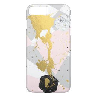 Capa iPhone 8 Plus/7 Plus Splatter do ouro