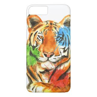 Capa iPhone 8 Plus/7 Plus Splatter do tigre