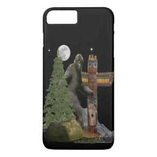 Capa iPhone 8 Plus/7 Plus T-shirt de Bigfoot