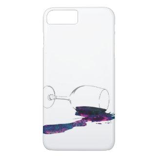 Capa iPhone 8 Plus/7 Plus Taça com Galaxia Derramada