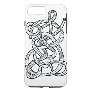 Capa iPhone 8 Plus/7 Plus Tapeworm