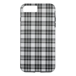 Capa iPhone 8 Plus/7 Plus Tartan Phonecase de Black&white