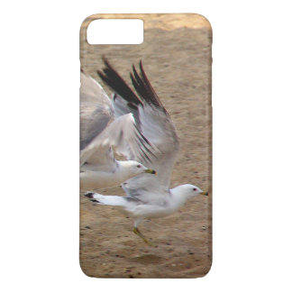 Capa iPhone 8 Plus/7 Plus telefone da gaivota