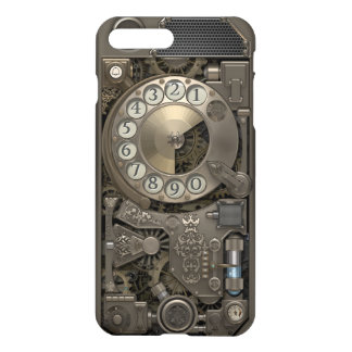 Capa iPhone 8 Plus/7 Plus Telefone de seletor giratório do metal de