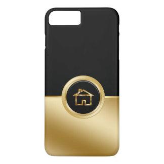 Capa iPhone 8 Plus/7 Plus Tema elegante do corretor de imóveis