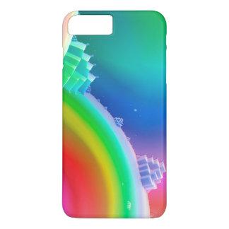 Capa iPhone 8 Plus/7 Plus terra do arco-íris