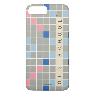 Capa iPhone 8 Plus/7 Plus Teste padrão 2 do Scrabble