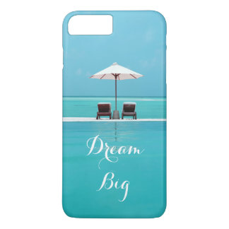 Capa iPhone 8 Plus/7 Plus Teste padrão bonito grande ideal do céu azul e da