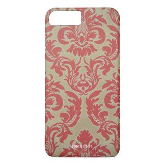 Capa iPhone 8 Plus/7 Plus teste padrão caso-floral do iPhone