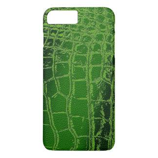 Capa iPhone 8 Plus/7 Plus Teste padrão da pele de /Snake do crocodilo do