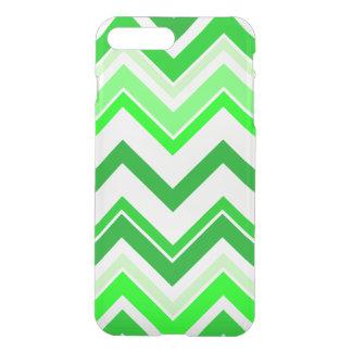 Capa iPhone 8 Plus/7 Plus Teste padrão de Chevron do verde limão