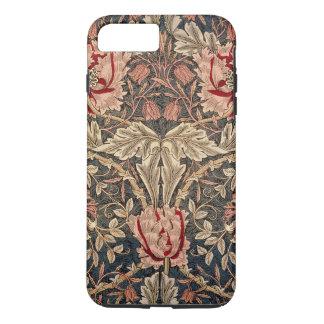 Capa iPhone 8 Plus/7 Plus Teste padrão do vintage da madressilva de William