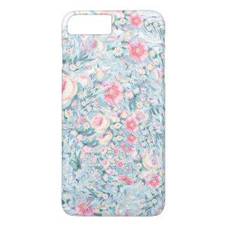 Capa iPhone 8 Plus/7 Plus Teste padrão floral da pintura