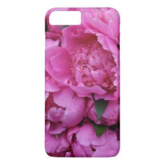 Capa iPhone 8 Plus/7 Plus Teste padrão fotográfico floral da peônia