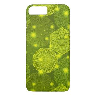 Capa iPhone 8 Plus/7 Plus Teste padrão luxuoso floral da mandala